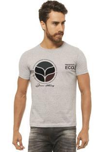 Camiseta Joss - Eco - Masculina - Masculino-Mescla