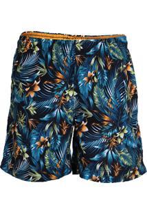 Shorts Folhagem Masculino Yachtmaster