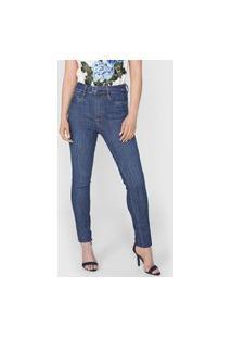 Calça Jeans Lança Perfume Skinny Héstia Azul