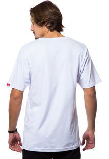 Camiseta Asphalt Ethnic Inverse Branco