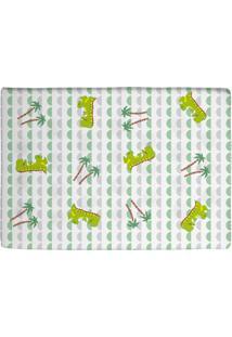 Travesseiro Era Uma Vez Antissufocante Estampado Verde