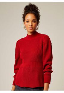 Blusa Tricot Vermelho