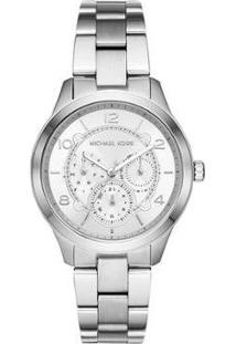 Relógio Michael Kors Runway Feminino - Feminino-Prata