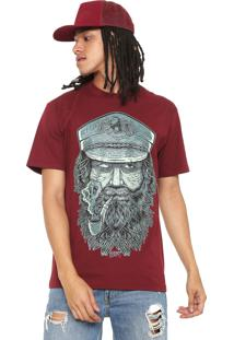 Camiseta Blunt Sailor Calm Vinho