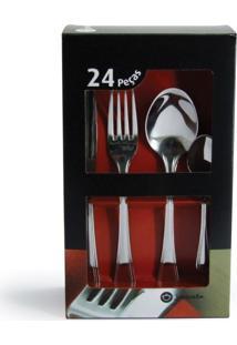 Faqueiro Standard Liso - 24 Peças