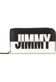 Jimmy Choo Carteira 'Carnaby' Bicolor - Preto