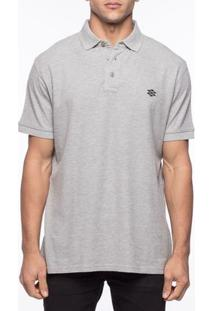 Camiseta Pólo Casual Zebra Pine Code Piquet - Masculino