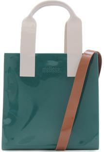 Bolsa Melissa Essential Tote Bag Verde
