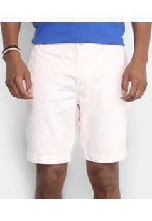 Bermuda Sarja Calvin Klein Color Chino Masculina - Masculino