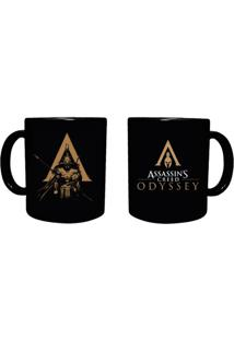Caneca Assassins Creed Ubaccn001 Preto - Kanui