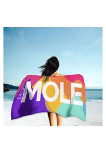 Toalha De Praia / Banho Praia Mole Único