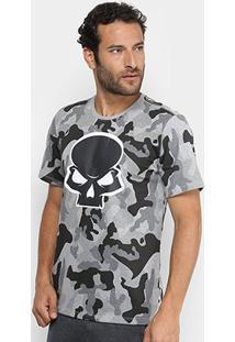 Camiseta Red Bull Skate Generation Camuflada Masculina - Masculino