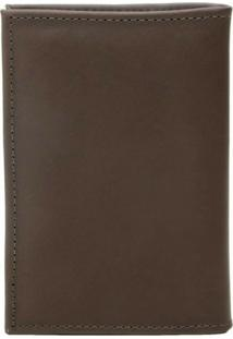 Carteira Wallet Legitimate Leather Porta Documentos Marrom