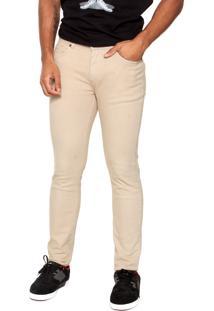 Calça Jeans Dc Shoes Color Straight Bege