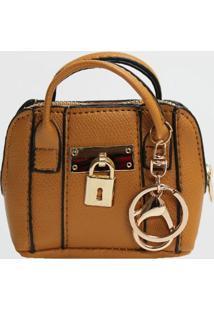 Porta Moedas Chaveiro Mini Bag Le Postiche (Preto, Único)