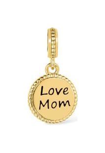 Pingente Life Love Mom Banho Ouro Amarelo By Vivara