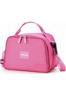 Bolsa Térmica Notecare Urban Plus Kit Refeição Rosa