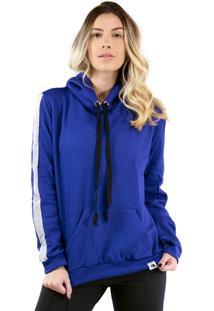 Casaco Blusa Moletom Bravaa Modas 034 Azul - Kanui