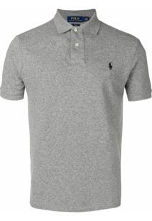 Polo Ralph Lauren Camisa Polo Com Logo - Cinza