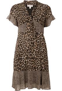 Michael Michael Kors Vestido Curto Animal Print - Estampado
