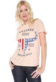 Camiseta Lez A Lez Arizona Rosa