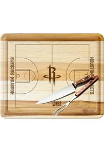 Kit Churrasco Nba Houston Rockets - Unissex