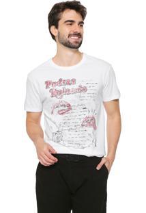 Camiseta Reserva Pedras Rolando Branca