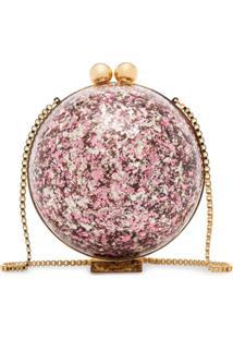 Marzook Clutch Sphere Com Brilho - Estampado