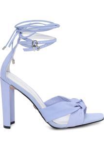 Sandália Feminina Nó - Azul