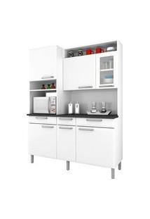 Cozinha Compacta Itatiaia I31Vg3-155 Regina 6 Portas Branca Neve