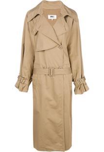 Farfetch. Sobretudo Feminino Algodão Trench Coat ... 8b061180569