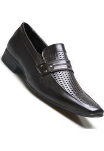 Sapato Social Masculino Calvest Couro Carneiro - Masculino