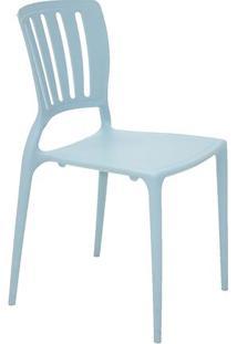 Cadeira Sofia- Azul Claro- 82,5X44,5X53Cm- Tramotramontina