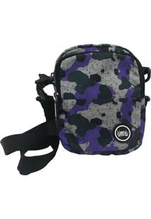 Mini Bolsa Lateral Chronic Shoulder Bag Color Grafitte Preto