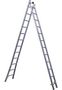 Escada Extensível 2X12 24 Degraus 5167 Mor