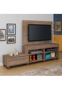 Rack Com Painel Para Tv 32 Polegadas Ever Canela 180 Cm