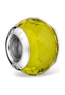 Pingente Life Murano Verde Limão