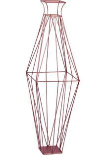 Garrafa Decorativa Diamante I Bronze