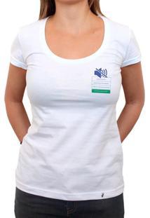 Dê Voz Ao Que Te Faz Bem - Camiseta Clássica Feminina