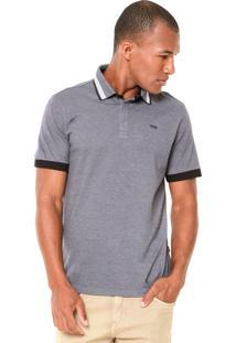 Camisa Polo Triton Bordada Cinza