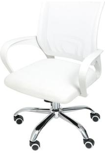 Cadeira Office Tok- Branca- 99X49X46Cm- Or Desigor Design