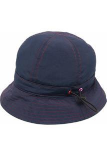 Ps Paul Smith Chapéu Bucket Com Cordão De Ajuste - Azul