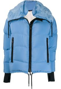 Moncler Grenoble Short Padded Jacket - Azul