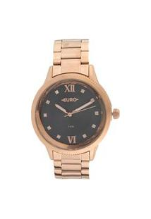 Relógio Euro Feminino Gril Power Rose Analógico Eu2036Yofk4F