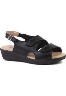 ca7812b11 ... Sandália Couro Doctor Shoes 7999 Feminina - Feminino-Preto
