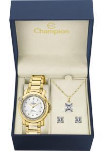 Bracelete Em Ouro Com Zircônias Verdes E Brancas - Ps12671