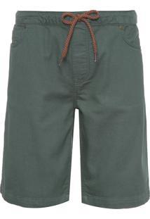 Bermuda Masculina Sweat - Verde