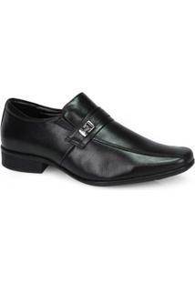 Sapato Social Masculino Jota Pe Preto Preto
