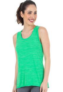 Camiseta Regata Verde Active| 553.821