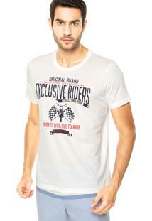 Camiseta Colcci Riders Branca